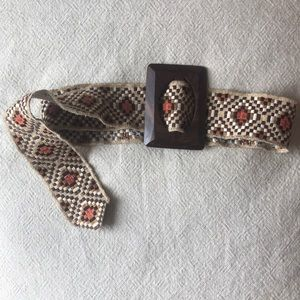 Awesome woven belt